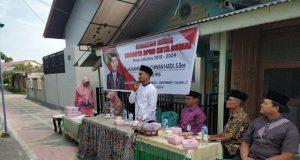 M Al Ichwan Hadi saat memberikan pemaparannya saat mendengar aspirasi dari warga Jalan Belimbing