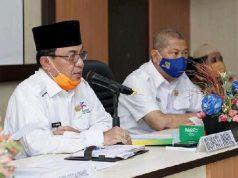 Bupati HM Wardan Pimpin Rapat Pertemuan dengan Pengurus Mesjid dan Musholla.