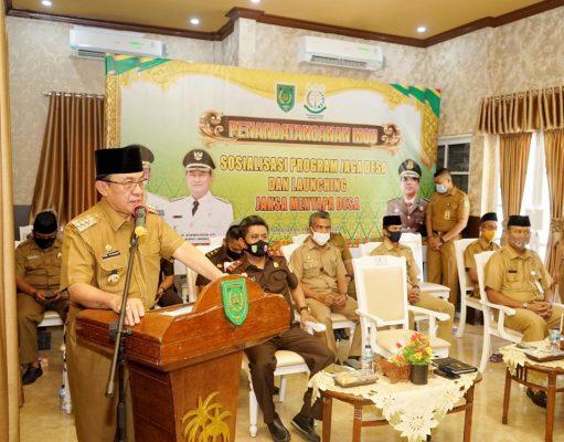 Bupati Indragiri Hilir (Inhil), Drs HM Wardan MP