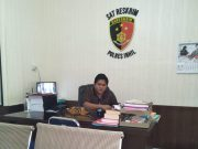 Kasat Reskrim Polres Inhil AKP Indra Lamhot Sihombing
