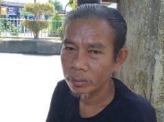 Amar, salah satu masyarakat Gunung Daek Inhil