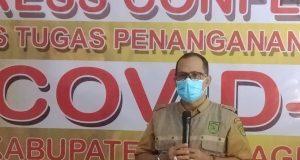 Juru Bicara Satuan Tugas Covid-19 Kabupaten Indragiri Hilir (Inhil), Trio Beni Putra