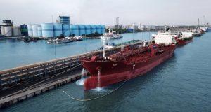 Pelabuhan CPO di Dumai, Riau (Foto Istimewa)